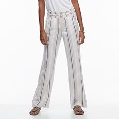 Juniors' SO® Wide-Leg Beach Pants