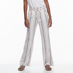 Juniors' SO® Wide-Leg Beach Pants