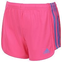 Girls 7-16 adidas Three Stripe Mesh Shorts