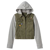 Girls 7-16 Mudd® Knit Utility Jacket