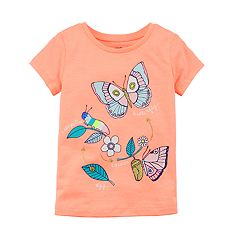 Baby Girl Carter's Butterfly Graphic Tee