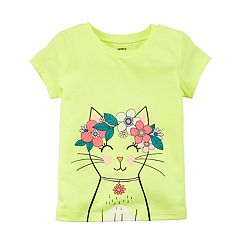 Baby Girl Carter's Cat Graphic Tee