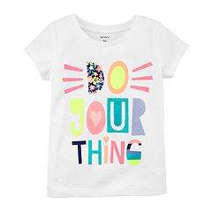 Baby Girl Carter's 'Do Your Thing' Glitter Graphic Tee