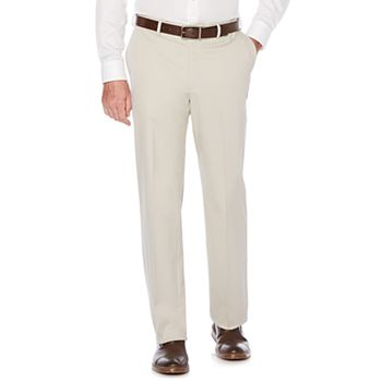b1af52946e Men s Savane Ultimate Straight-Fit Performance Flat-Front Chino Pants