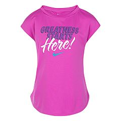 Girls 4-6x Nike 'Greatness Starts Here!' Graphic Tee