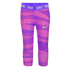 Girls 4-6x Nike Dri-FIT Geometric Print Capri Leggings