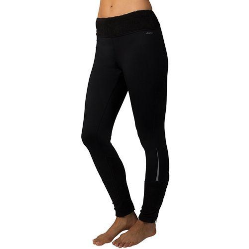 555d2863ebdcd Women's Jockey Sport Burnout Microfleece Workout Leggings