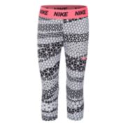 Girls 4-6x Nike Dri-FIT Cube Print Capri Leggings