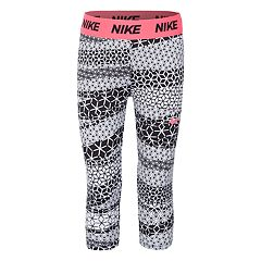 Girls 4-6x Nike Dri-FIT Cube Print Capri Leggings