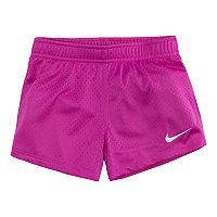 Girls 4-6x Nike Magenta Mesh Shorts