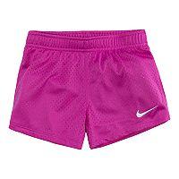 Girls 4-6x Nike Magenta Mesh Shorts