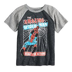 Toddler Boy Jumping Beans® 'The Amazing Spider-Man Ready For Action' Graphic Tee