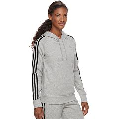 Women's adidas 3 Stripe Pullover Hoodie