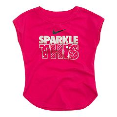 Girls 4-6x Nike  'Sparkle This' Metallic Graphic Tee