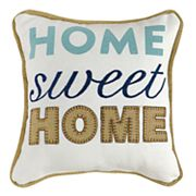 ''Home Sweet Home'' Mini Throw Pillow