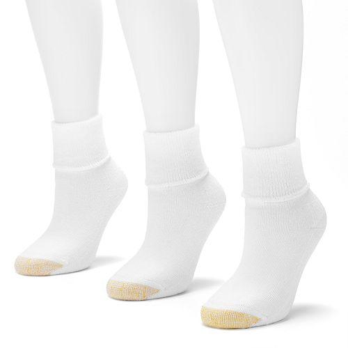 GOLDTOE® 3-pk. Ultra Tec Terry-Cuff Socks