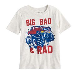 Boys 4-10 Jumping Beans® 'Big Bad & Rad' Monster Truck Graphic Tee