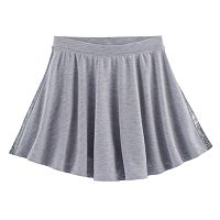 Girls 7-16 SO® French Terry Space-Dyed Circle Skirt