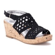 SO® Entertainer Girls' Wedge Sandals
