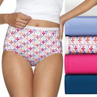 Hanes Ultimate 6-pk. Ultra Soft Cotton Comfort Briefs 40HUC6