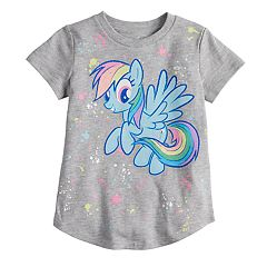 Toddler Girl Jumping Beans® My Little Pony Rainbow Dash Glitter Graphic Tee