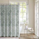 Madison Park Karyna Cotton Sateen Shower Curtain
