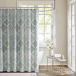 Madison Park Karyna Cotton Sateen Shower Curtain
