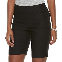 Women's Apt. 9® Brynn Midrise Pull-On Bermuda Shorts
