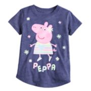 Toddler Girl Jumping Beans® Peppa Pig Glitter Graphic Tee