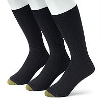 Men's GOLDTOE 3 pkHampton Pima Dress Socks