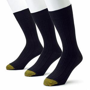 Men's GOLDTOE® 3-pack Hampton Pima Dress Socks