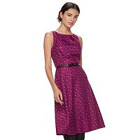 Women's ELLE™ Pleated Midi Dress