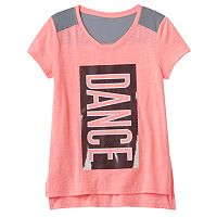 Girls 7-16 SO® Blocked Mesh Tee