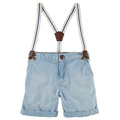 Toddler Boy OshKosh B'gosh® Suspender Shorts