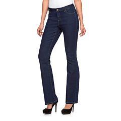 Women's Jennifer Lopez Curvy Fit Bootcut Jeans