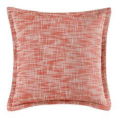 Melange Woven Abstract Throw Pillow