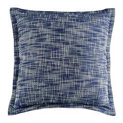 Melange Woven Abstract Throw Pillow