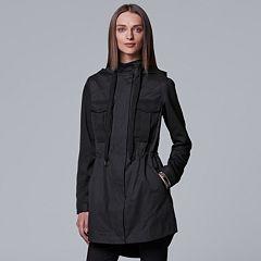 Women's Simply Vera Vera Wang Utility Anorak Jacket