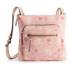 SONOMA Goods for Life™ Dina Floral Crossbody Bag