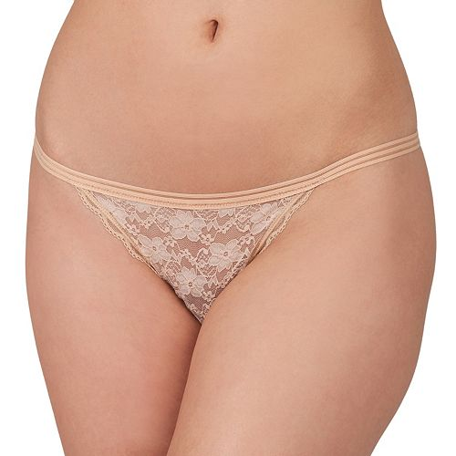 Candie's® Lace String Thong Panty