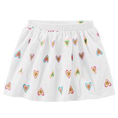 Baby Girl Carter's Heart Glittery Skort