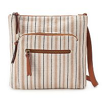 SONOMA Goods for Life™ Dina Striped Crossbody Bag