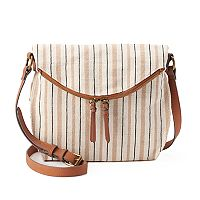 SONOMA Goods for Life™ Shelia Striped Crossbody Bag