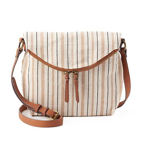 067effa325f1 SONOMA Goods for Life™ Shelia Striped Crossbody Bag