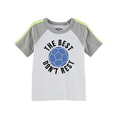 Toddler Boy OshKosh B'gosh® 'The Best Don't Rest' Soccer Tee