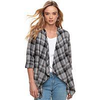 Women's SONOMA Goods for Life™ Flyaway Shirt Cardigan