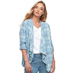 Women's SONOMA Goods for Life™ Flyaway Shirt Cardigan