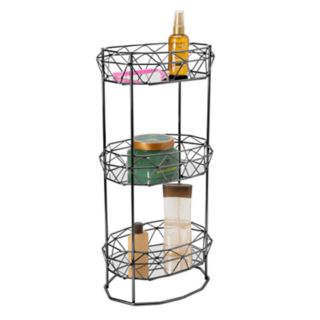 Bath Bliss Geometric 3-Tier Bath Spa Tower