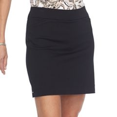 Petite Croft & Barrow® Sateen Skort