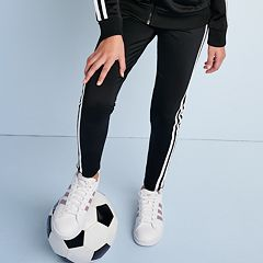 Girls 7-16 adidas Side Stripe Leggings